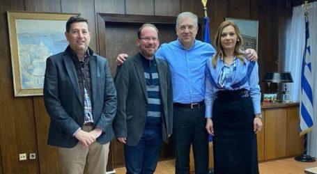 Συνάντηση Μπίζιου – Θεοδωρικάκου για θέματα της Ελασσόνας