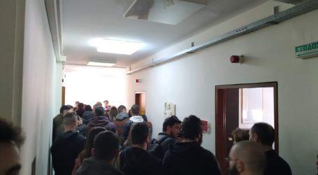 Σε μαζική κινητοποίηση προχώρησαν φοιτητικοί σύλλογοι σήμερα στη Λάρισα