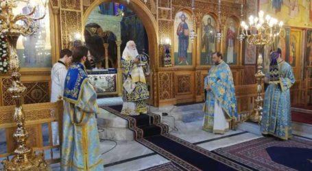 Δημητριάδος Ιγνάτιος:«Θα δώσουμε μαζί τον αγώνα και θα νικήσουμε» – Γιορτάστηκε ο Ευαγγελισμός της Θεοτόκου στην Ν. Ιωνία
