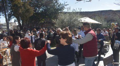"""Μεγάλο σαρακοστιανό γλέντι στήθηκε στο """"Φρούριο"""" στη Λάρισα – Παραδοσιακές γεύσεις και χάλκινα (φωτο – βίντεο)"""