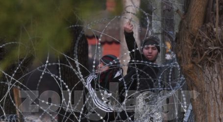 LIVE Καστανιές Έβρου: Χιλιάδες μετανάστες στα σύνορα