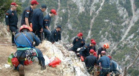 Νεκρή 32χρονη πεζοπόρος σε φαράγγι