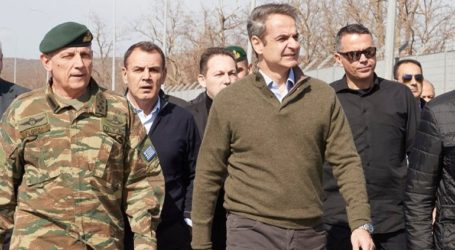 Το στρατιωτικό φυλάκιο 1 επισκέφθηκαν ο πρωθυπουργός και οι επικεφαλής των ευρωπαικών θεσμών