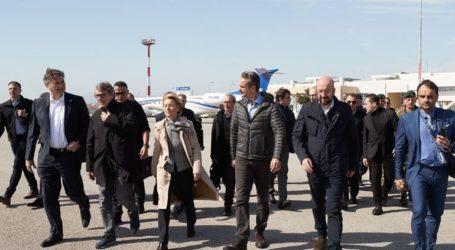 Αυτοψία του πρωθυπουργού και των επικεφαλής της Ε.Ε. στον Έβρο