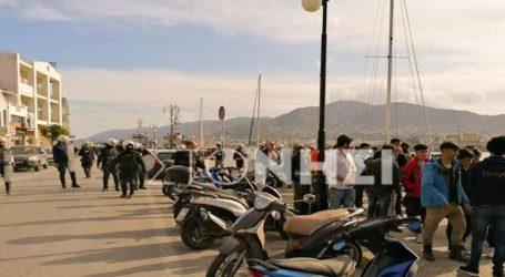 Φήμη ότι άνοιξαν τα σύνορα της ΕΕ προκαλεί εκ νέου αναστάτωση στη Μόρια