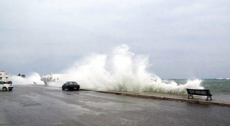 Ισχυρές καταιγίδες και πτώση της θερμοκρασίας