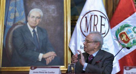 Απεβίωσε σε ηλικία 100 ετών ο πρώην γ.γ. του ΟΗΕ Χαβιέρ Πέρες δε Κουέγιαρ