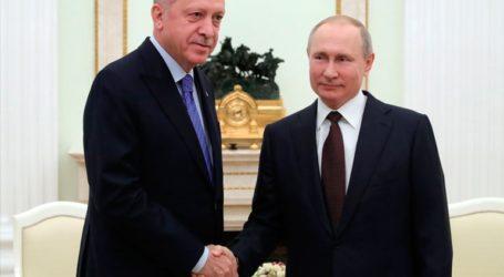 Σε εξέλιξη εδώ και τρεις ώρες οι συνομιλίες Πούτιν – Ερντογάν