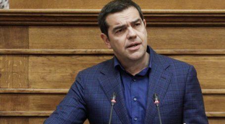 Να ενισχυθούν τα μέτρα για τον κορωνοϊό ζητεί ο Αλέξης Τσίπρας