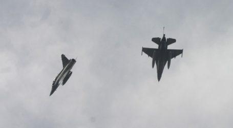 Δεύτερη πτήση τουρκικών F-16 πάνω από τις Οινούσσες