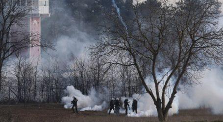 Ένταση στις Καστανιές Έβρου με χημικά και δακρυγόνα
