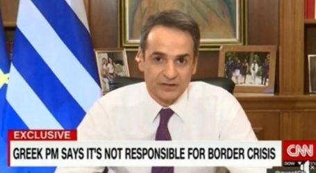 Μητσοτάκης στο CNN: Η συμφωνία Ε.Ε.
