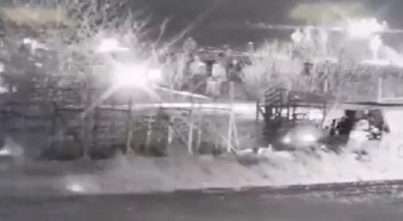 Τουρκικό τεθωρακισμένο προσπαθεί να ρίξει τον φράχτη