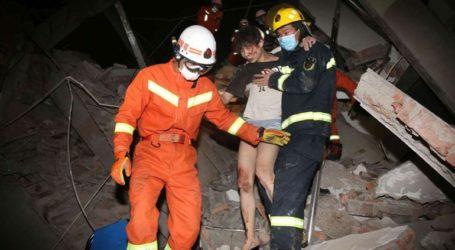 Δέκα νεκροί από την κατάρρευση ξενοδοχείου που χρησιμοποιούνταν για καραντίνα