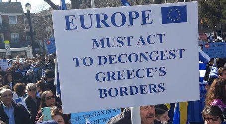 Μεγάλο συλλαλητήριο στη Νέα Υόρκη κατά της παραβίασης των ελληνικών συνόρων