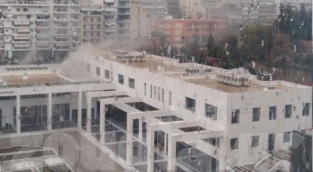 Κατασβέστηκε η φωτιά που είχε ξεσπάσει στο Ειρηνοδικείο Αθηνών