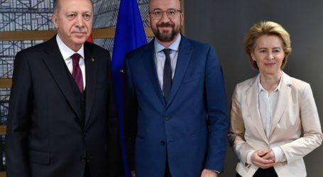 Ερντογάν – Μισέλ – Φον Ντερ Λάιεν συμφώνησαν να εξεταστεί από ειδικούς η έως τώρα εφαρμογή της δήλωσης του 2016
