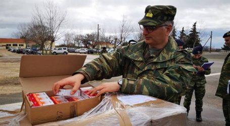 Το ΓΕΕΘΑ ευχαριστεί για τις προσφορές πολιτών προς τους φρουρούς του Έβρου