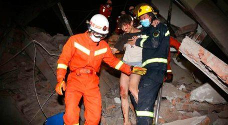 Στους 26 οι νεκροί από την κατάρρευση ξενοδοχείου που χρησιμοποιούνταν για πολίτες με κορωνοϊό