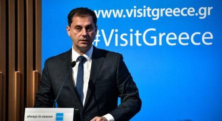 Συνάντηση του υπουργού Τουρισμού με τον πρέσβη των ΗΠΑ στην Ελλάδα