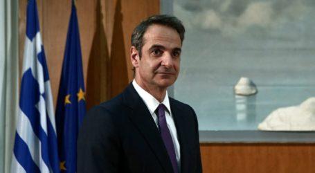 Σύσκεψη υπό τον πρωθυπουργό Κυριάκο Μητσοτάκη για τον κορωνοϊό