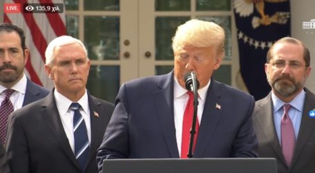 Το διάγγελμα Τραμπ: Κήρυξε τις ΗΠΑ σε κατάσταση έκτακτης ανάγκης