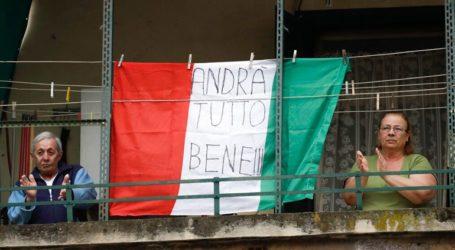 Οι Ιταλοί συνεχίζουν να τραγουδούν από τα μπαλκόνια τους