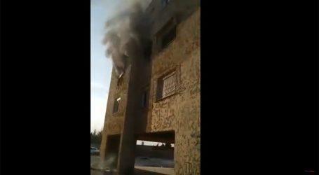 Βίντεο σοκ από φλεγόμενη πολυκατοικία στον Εύοσμο