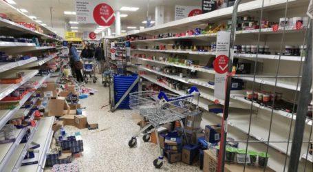 Έκκληση των βρετανικών σούπερ μάρκετ-Σταματήστε τις αγορές λόγω του πανικού