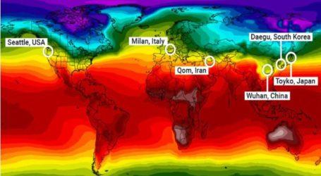 Ο κορωνοϊός χτυπάει περιοχές παρόμοιου κλίματος