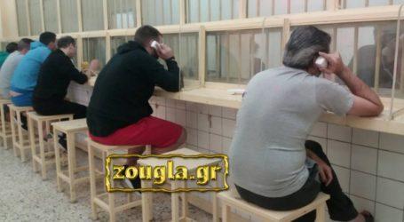Κραυγή αγωνίας από κρατούμενους των φυλακών Κορυδαλλού για τον κορωνοϊό