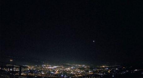 Ασυνήθιστο φωτεινό αντικείμενο στον ουρανό αναστάτωσε την Κοζάνη