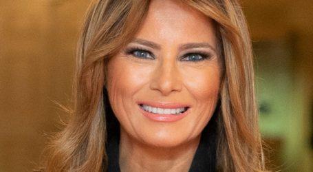 Η Μελάνια Τραμπ θα λάβει μέρος σε μία τηλεοπτική διαφημιστική εκστρατεία κατά της μετάδοσης του κορωνοϊού