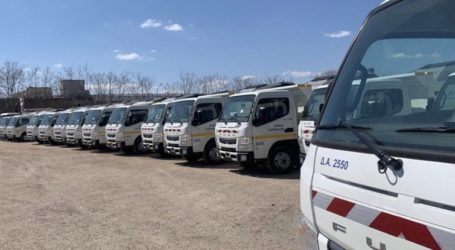 Δεκάδες νέα πλυστικά οχήματα και υδροφόρες για καθαριότητα-απολύμανση στον Δήμο Αθηναίων