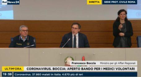 Δραματική έκκληση Ιταλού υπουργού προς όλους τους γιατρούς της χώρας