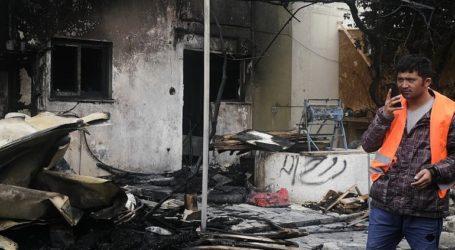 Μυτιλήνη: Αλλοδαποί έκαψαν τις εγκαταστάσεις του«One happy family»