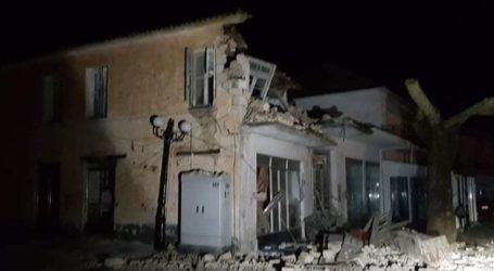 Η πρώτη εικόνα από τις ζημιές στο Καναλάκι Πρέβεζας λόγω του σεισμού