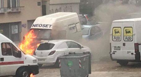 Φωτιά σε αυτοκίνητο αναστάτωσε την Ξάνθη