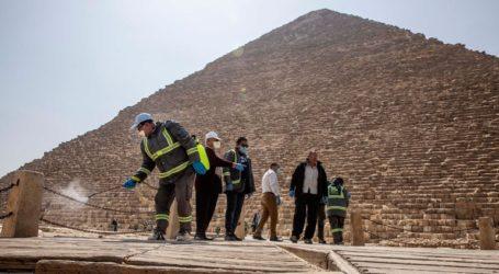 Η Αίγυπτος απολύμανε τις Πυραμίδες λόγω κορωνοϊού