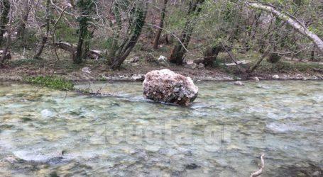 Ο σεισμός της Πρέβεζας προκάλεσε πτώση βράχων στις πηγές του Αχέροντα