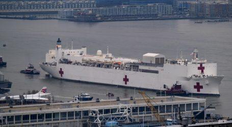 Έφθασε στη Νέα Υόρκη στρατιωτικό πλωτό νοσοκομείο με 1000 κλίνες
