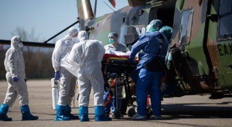 Στρατιωτικά ελικόπτερα μεταφέρουν στο εξωτερικό ασθενείς σε κρίσιμη κατάσταση