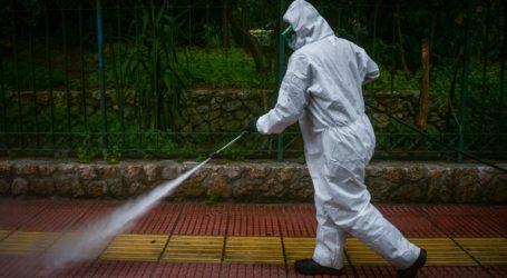 Συνεχίζονται οι εργασίες απολύμανσης και καθαριότητας