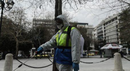 Καθημερινό πλύσιμο περίπου 70 κάδων απορριμμάτων του δήμου