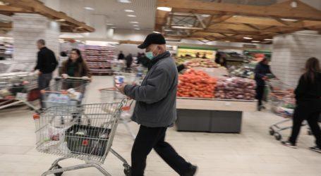 Ανάπτυξη πωλήσεων στα σούπερ μάρκετ, εν μέσω της πανδημίας του κορωνοϊού