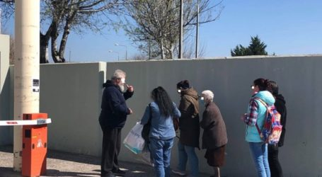 Πολύ αυστηρά μέτρα στο Πανεπιστημιακό Νοσοκομείο Λάρισας – Security ελέγχουν σχολαστικά τους πάντες στην είσοδο (φωτο)