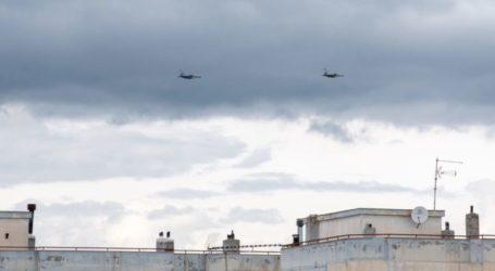 25η Μαρτίου 2020 – Κορονωϊός: Ζεύγος μαχητικών F-16 «έσκισε» τον ουρανό της Λάρισας – Δείτε φωτογραφίες