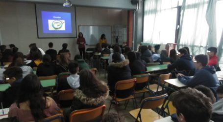 Ενημερωτικές δράσεις σε μαθητές από την «Πρόταση ζωής»
