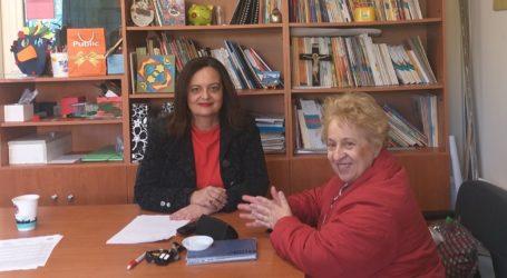 Συναντήσεις με διευθυντές σχολείων πραγματοποιεί η αντιδήμαρχος Παιδείας