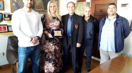 Η Ακαδημία Καράτε του Γ. Στεφάνου τίμησε την αντιπεριφερειάρχη Μαγνησίας